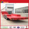 3axles 60ton Heavy Duty Truck Low Bed Semi Trailers