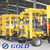 Hot Drilling Rig with Borehole Compressor, and Diesel Diesel Engine