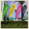 Polyester Print Knife Flag Show Flag Display Advertising (3.5m Height)