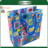 PP Handle Colorful Art Paper Shopping Paper Bag
