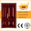 Yongkang China High Quality Safety Metal Door (SC-110)