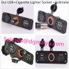 Car USB Charger Cigarette Lighter Socket and Voltmeter