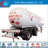 Popular 60m3 Propane LPG Gas Trailers for Hot Sale