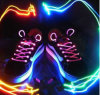 LED Shoelaces/ Shoe Laces/Flash Light up Glow Strap Shoelaces for Party
