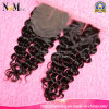 130% Density 35-45gram Medium Brown Swiss Lace Top Closure