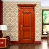 Oppein Brown Solid Wood Interior Swing Door (MSSD07)