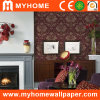 PVC Vinyl Wallpaper with Flowers (CY082405)