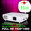 Mini Cinema Home Theater LED Projector with RoHS Certification