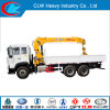 Famous China HOWO 6X4 Truck with Crane 6ton for Sale