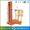 4.5m Hydraulic Lift Vertical Welding Lift Platform Orderpickers Working Platform