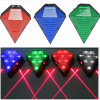 8LED Laser Bicycle Tail Light USB Rechargeable Bike Rear Light
