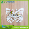 White Hollow Butterfly Partition Wall Garden Rack Shelf