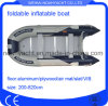 PVC or Hypalon Aluminum Floor Inflatable Boat