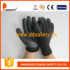 Ddsafety 2017 13 Gauge Black Nylon Nitrile Foam Finished Gloves