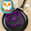 """Owl "" Shaped Silicone Egg Ring Fried Egg Mold"