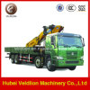 Sinotruk with 10 Ton Lifting Arm/Telescopic Boom Crane