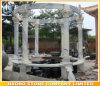 Marble Gazebo Garden Bench for Sale