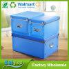 3 Set DIY Blue Transparent PP Shoes and Clothes Storage Organizer