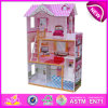 2016 New Design Wooden Doll House, Most Popular Wooden Doll House, High Quality Wooden Toy Doll House W06A092