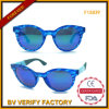 Italiy Design High Quality Women Sungalsses with blue Lens (F15839)