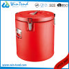 Widely Use Portable Heat Presevation Locked Food Container Barrel for Restaurant