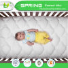 Slf-12 100%Polyester Microfiber Surface Waterproof Quilted Mattress Crib Pad