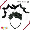 High Quality New Style 2018 Halloween Black Bat Flower Headband for Adult