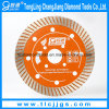 Continous Diamond Wet Cutting Saw Blades for Ceramic, Marble, Granite