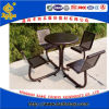 Park Iron Tabke and Chair Set, Villa Furniture (BH15401)