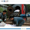 10ton Tyre Pyrolysis Machinery with Conveyor Feeder Easy Loading