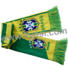 Brasil National Soccer Team 2014 World Cup Knitting Jacquard Acrylic Football Scarf