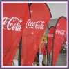 Promotional Feather Flag with Polyester Fabric for Indoor Outdoor Application