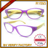 R1593 Vogue Female Style Bamboo Temples Reading Glasses