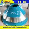 Crusher Manganese Parts Cheek Wear Bowl Liner
