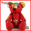Stuffed Toy Bear Red Flower Chinese Classic Cloth Toy Bear