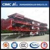 Fine Process Cimc Huajun 3axle Stake Semi Trailer