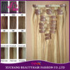 Clip in / on European Human Remy Hair Extensions