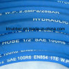 4sh Hydraulic Wire Braid Synthetic Steel Wire Rubber Hose