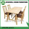 5PC Oak Wood Type Dining Room Furniture (W-DF-9036)