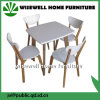 Oak Wood Furniture Set Square Dining Table