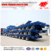 3 Axles 60tons Heavy Duty Low Bed Lowboy Truck Trailer