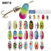 Top Quality Multi Color Spinner Fishing Lure