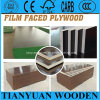 Marine Construction Waterproof Film Faced Concrete Formwork Plywood