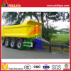 20-25ton Hydraulic Drawbar Dump Trailer for Hot Sale
