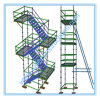 Painted Ringlock Scaffolding for Construction