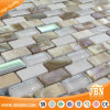Mesh-Mounted Sea Shell, Stone, Crystal Glass Mosaic Tile (M853001)