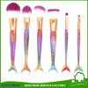 Mermaid Makeup Brush Set Fish Tail Foundation Powder Eyeshadow Cosmetic Brushes