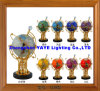 Yaye 18 Hot Sell Ce/RoHS 330mm/220mm Lighting Gemstone Globe/Gemstone Globe/World Globe/Gifts