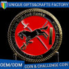 Custom Made Antique Gold Plating Metal Challenge Coin