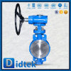 Didtek 100% Test Triple Eccentric High Performnce Butterfly Valve